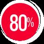 80 % BIELKOVÍN ŽIVOČÍŠNEHO PÔVODU